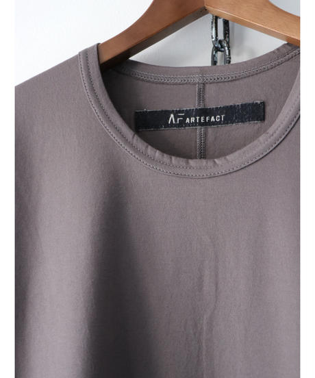 A.F ARTEFACT / ag-3044  / Round Neck Top / GREY