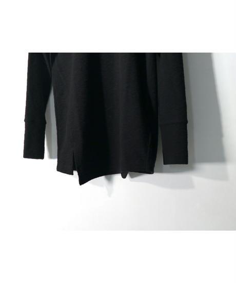 RIPVANWINKLE / RW-302  / LONG SLUB JERSEY / BLACK