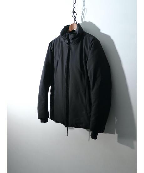 RIPVANWINKLE / RB-252  / C/N撥水グログラン ソリッド ダウンジャケット / BLACK
