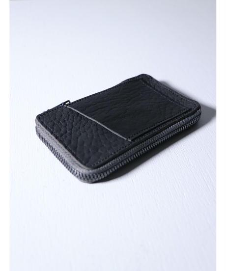 "Portaille / GP08 / Leather Key Case ""Bull Shrink"" / Black"