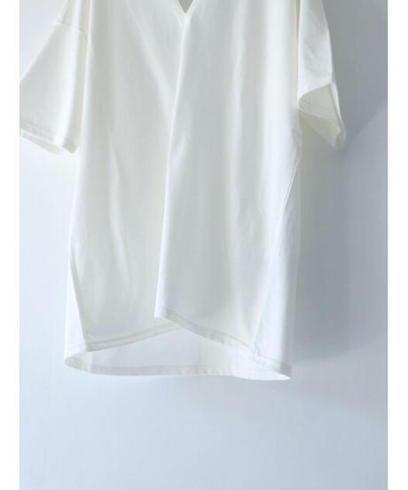 A.F ARTEFACT / ag-3043  / V-Neck Top / WHITE