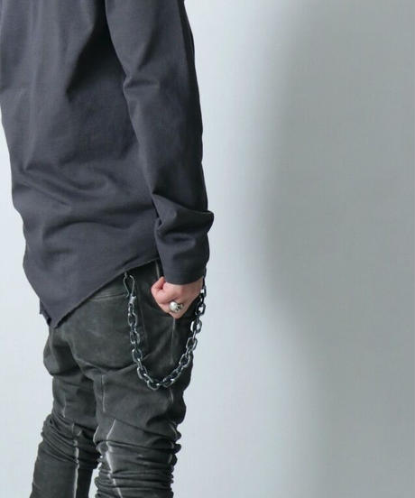 Thee OLD CIRCUS / 714 / SHORT WALLET CHAIN  / DUST SILVER