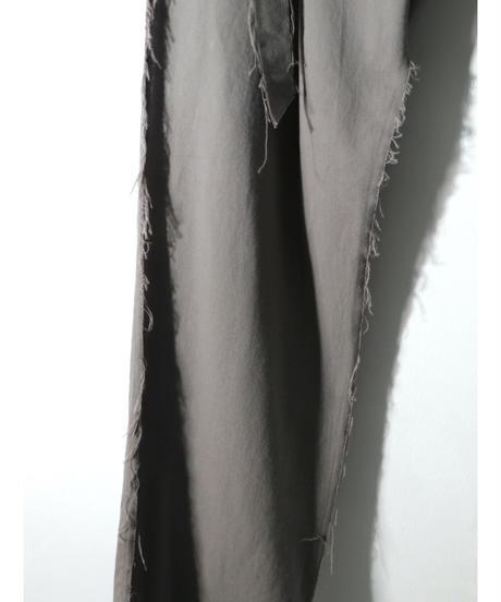 ASKYY / H21 / WAIST BELT SLACKS / D.GRY