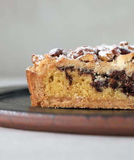 焼き菓子kahka / KH-01 / Chocolate nut crumble tart (Hall)