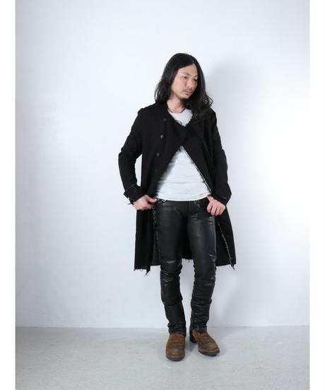 ASKYY / J9  / BONDING TRENCH COAT / BLACK