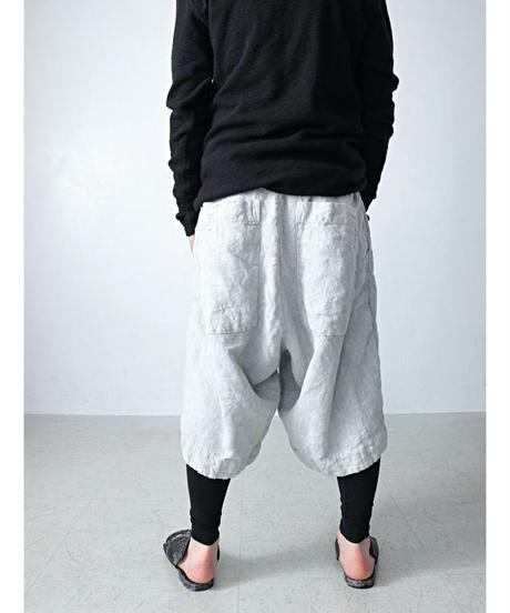 Vital / VT-2000-1 / Sumi Dyed Tuck Shorts / L.GREY