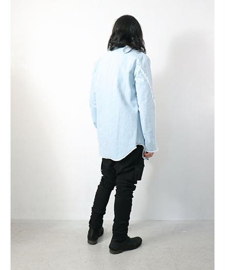 ASKYY / K12  / Y DENIM TUNIC / ICE BLUE
