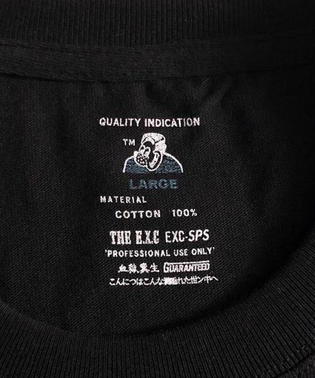 【PRE】無地Tシャツ/ブラック #EXC-TS22