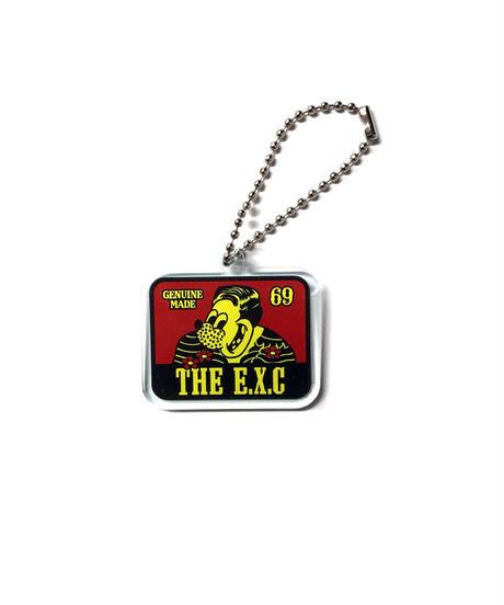 アクリルキーホルダー/ロゴ #EXC-GD07
