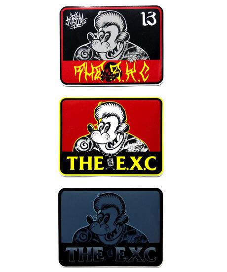 ステッカーパック3P/KH13 #EXC-GD05