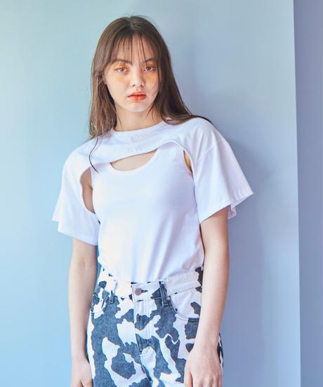 ensemble T-shirt  WHITE