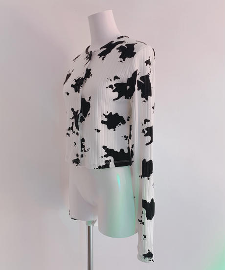 cow rib cardigan