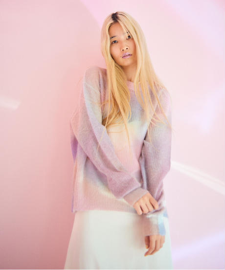 unicorn cloud knit PINK
