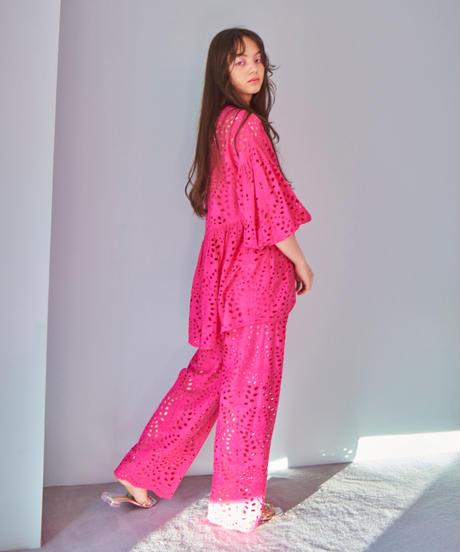 lace pants PINK