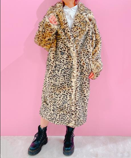 LEOPAPD fur coat