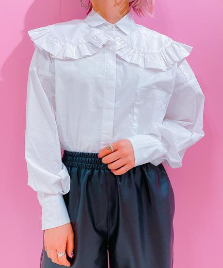 double collar frill shirt