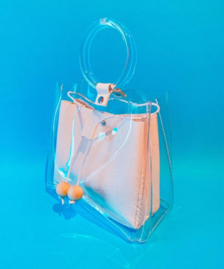 The clear bag