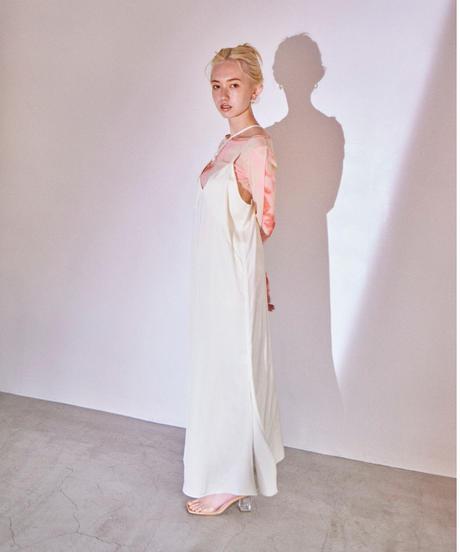long cami dress WHITE