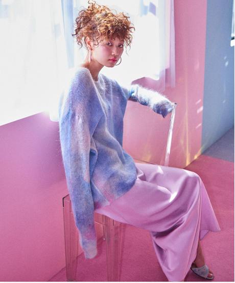 unicorn cloud knit BLUE