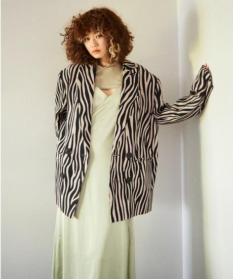 over size jacket ZEBRA