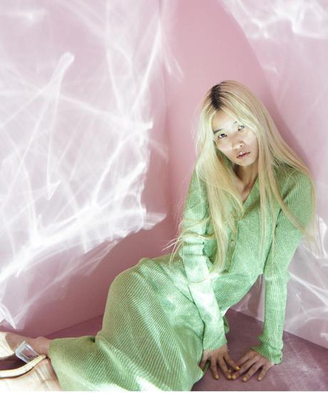 glitter cardian GREEN