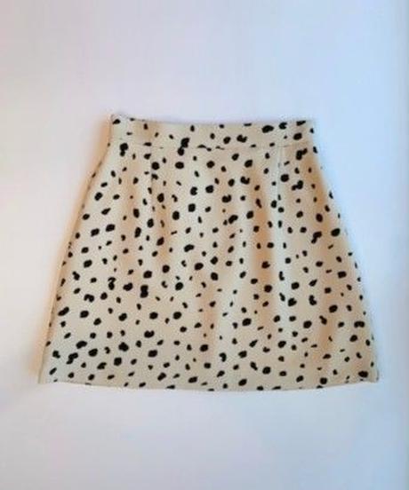 basic mini skirt DALMATIAN