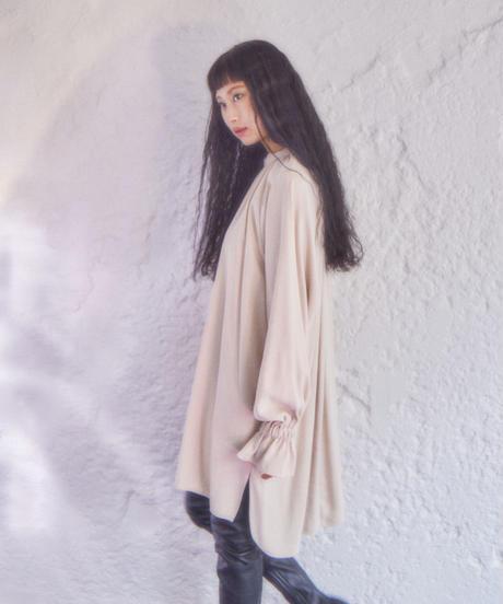 pullover flare dress BEIGE
