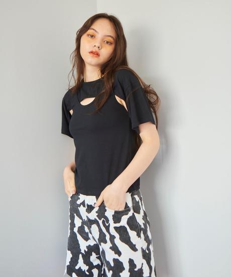 ensemble T-shirt  BLACK
