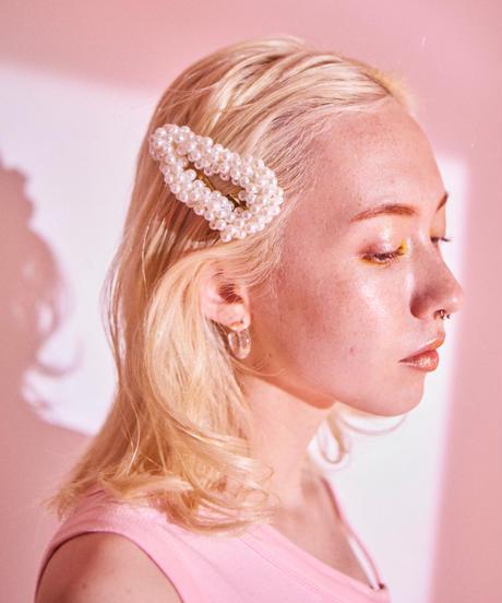 pearl hair pins TRIANGLE