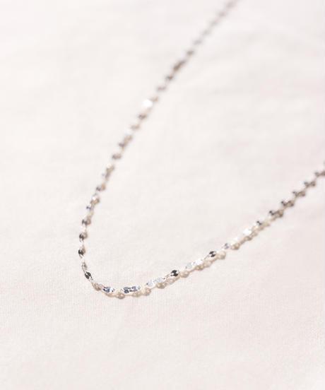 【予約商品】MY013 ペタルチェーン[38cm] Silver 925