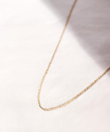 【予約商品】MY018 ケーブルチェーン[45cm] K18 gold plated Silver 925