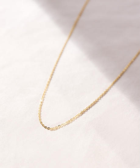 MY022 レッドビーンズチェーン[70cm] 18K gold plated Silver 925