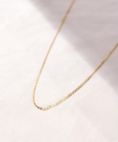 MY023 レッドビーンズチェーン[70cm] K10 Yellow gold