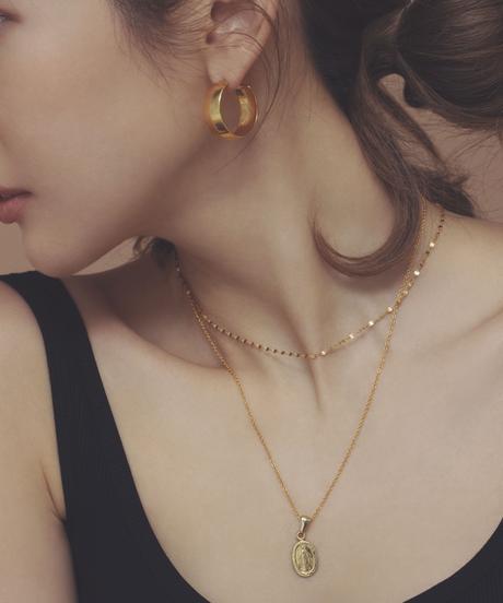 【予約商品】MY012 フィレンツェ ポンテヴェッキオ メダイチャーム K18 gold plated Silver 925