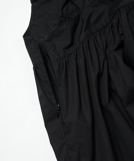 MY035 ビッグリボンワンピース(ブラック)
