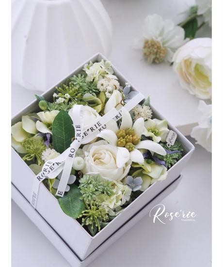 ROSE'RIE BOXアレンジ【体験レッスンキット】★☆ ☆ 送料無料