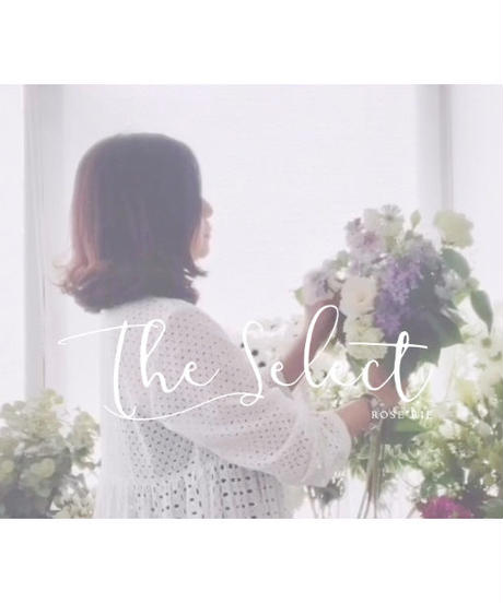 The select:グリーンmini花束