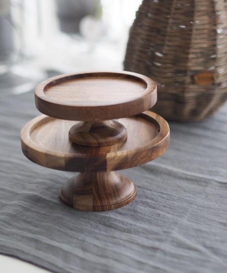 木製ケーキスタンド2個セット