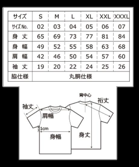 Tシャツ(寝てる仏像 大)