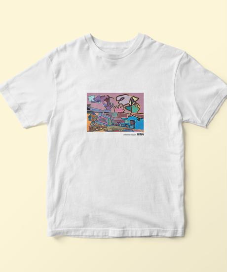 Tシャツ(寝てる仏像 中)