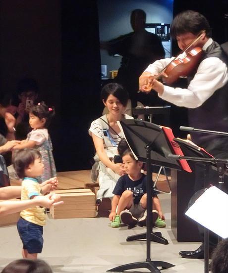0歳からの・はじめてのオーケストラ【武蔵小金井・11/21日】3人②
