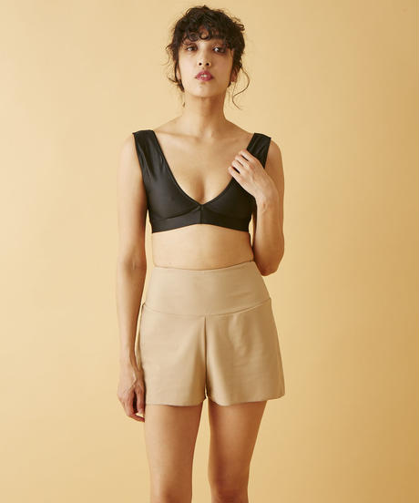 Taara  High Waist Shorts