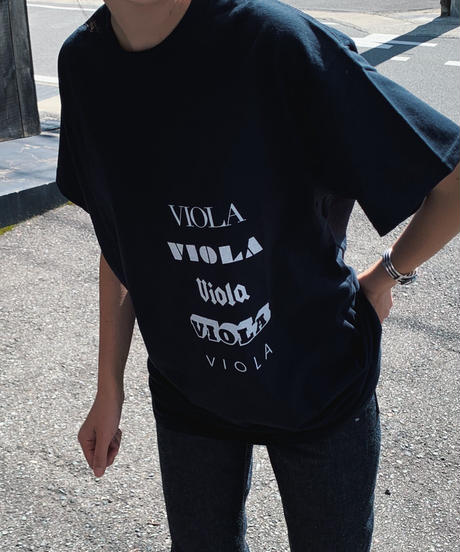 VIOLA&ROSES TYPO S/S TEE