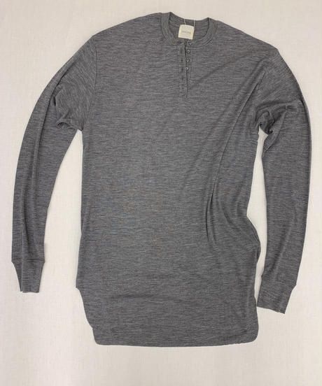 jonnlynx men's wool henley neck tee