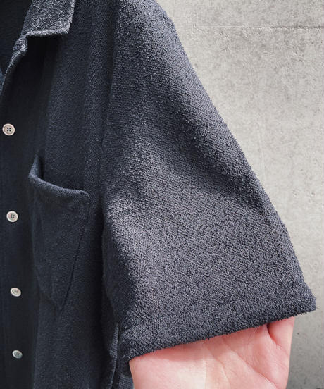 OUR LEGACY Box Shirt S/S boucle