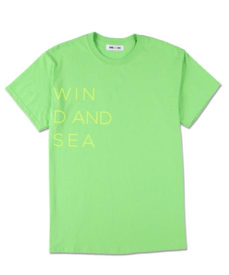 WIND AND SEA   CLASSIC LOGO TEE