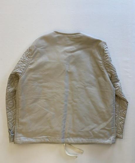 Ernie Palo Quilting sleeve zip blouson