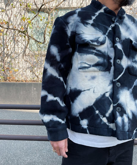 The Elder Statesman The Dye Cloud Teton Jacket