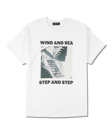 WIND AND SEA(step and step)PHOTO T-SHIRT