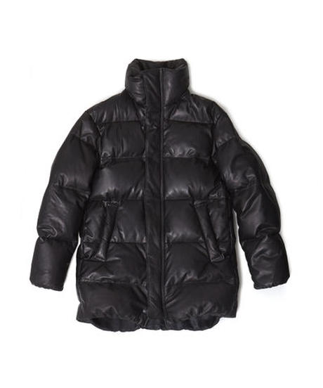 NAISSANCE  LEATHER DOWN JACKET